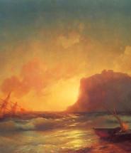 Море. Коктебельская бухта сочинение