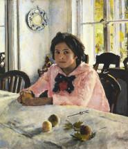 девочка с персиками сочинение по картине