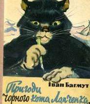 пригоди чорного кота лапченка короткий зміст
